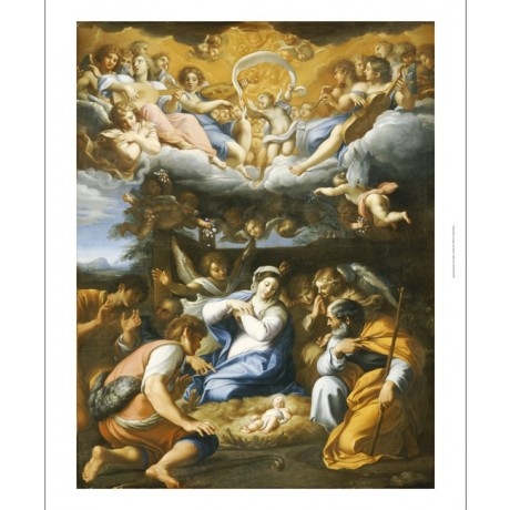 "FRENCH SCHOOL ""Adoration Of Shepherds"" CANVAS ART ! various SIZES available, NEW"