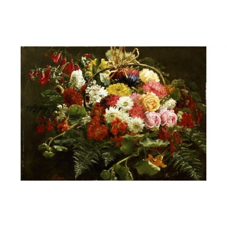 "ANTHONIE ELEONORE CHRISTENSEN ""Summer Bouquet"" Print various SIZES available"