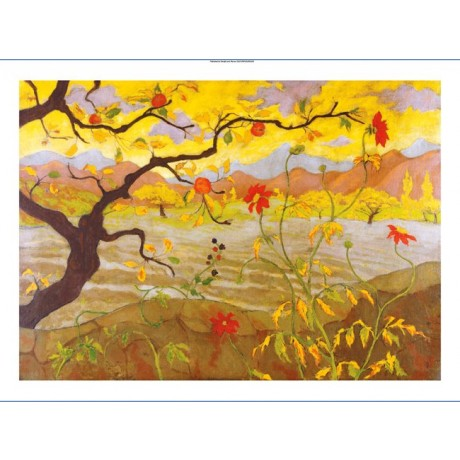 "PAUL RANSON ""Pommier Aux Fruits Rouges"" Landscape Print various SIZES, BRAND NEW"