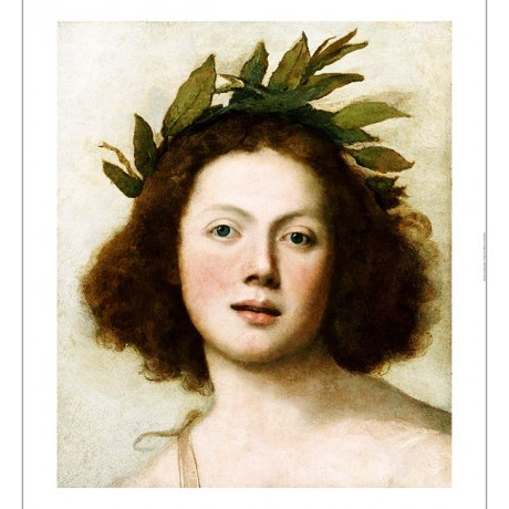 "GIROLAMO FORABOSCO ""Head Of Apollo"" CANVAS PRINT ! choose SIZE, from 55cm up"