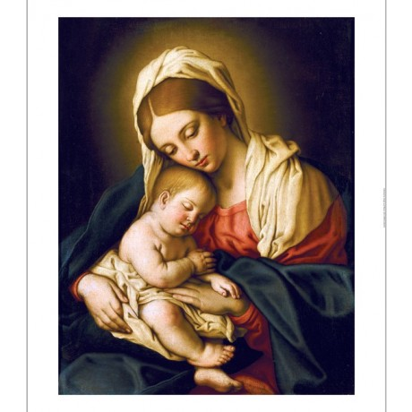 "GIOVANNI BATTISTA SALVI ""Madonna And Child"" PRINT NEW various SIZES, BRAND NEW"