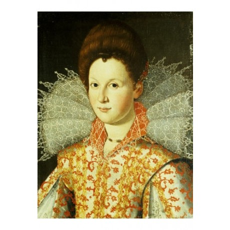 """SANTI DI TITO (STUDIO OF) """"Portrait Of A Lady"""" print various SIZES available"""