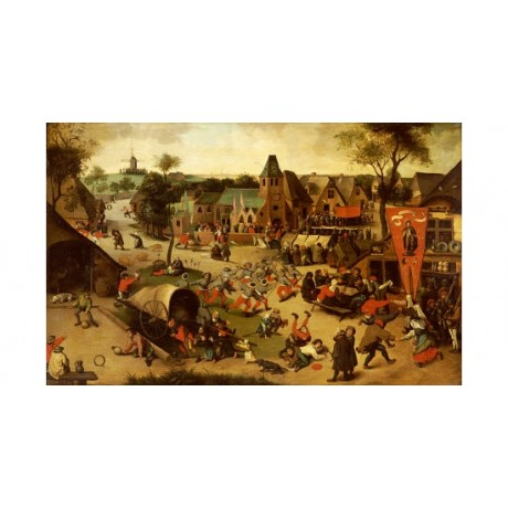"ABEL GRIMMER ""Carnival On Feastday Of Saint George"" NEW various SIZES, BRAND NEW"