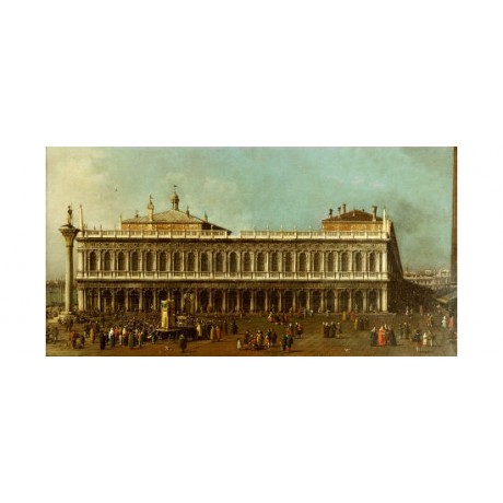 "GIOVANNI ANTONIO CANALETTO ""Library And Piazetta, Venic various SIZES, BRAND NEW"