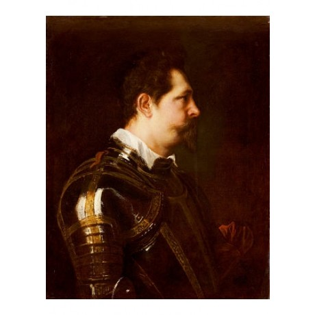 "SIR ANTHONY VAN DYCK ""Portrait Of A General"" Military various SIZES, BRAND NEW"