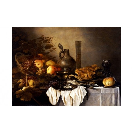 PIETER CLAESZ Still PRINT choose your SIZE, from 55cm to X LARGE