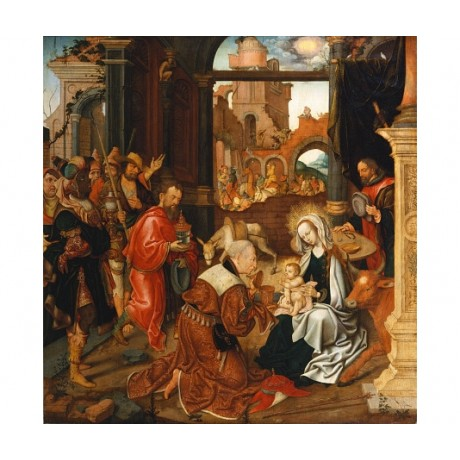 "JAKOB VAN AMSTERDAM CORNELISZ ""Adoration Of Kings"" choose SIZE, from 55cm up"