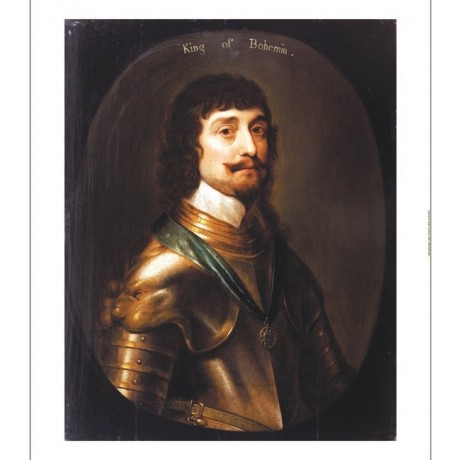 "GERRIT VAN HONTHORST ""Portrait Frederick V"" print NEW various SIZES, BRAND NEW"