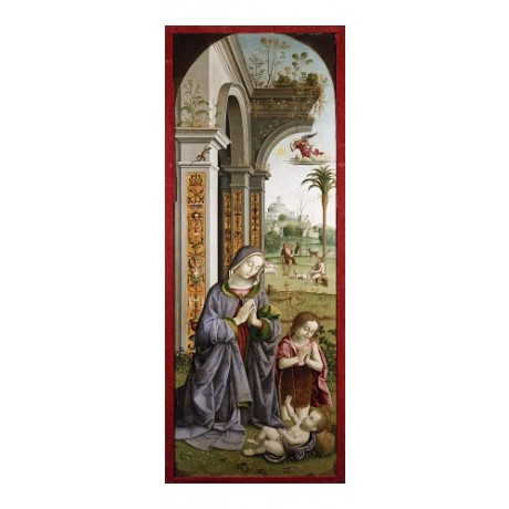 GIOVANNI BATTISTA BERTUCCI Adoration Of The Child NEW various SIZES, BRAND NEW