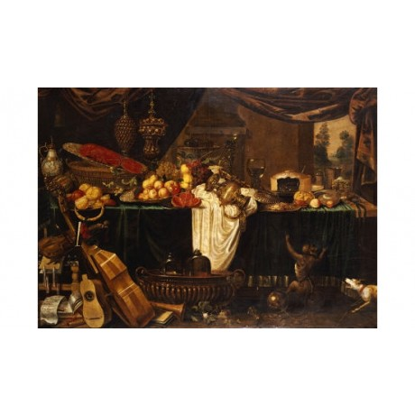 "JAN FREDERICK GOIBER ""Banquet Still-Life"" PRINT NEW various SIZES available, NEW"