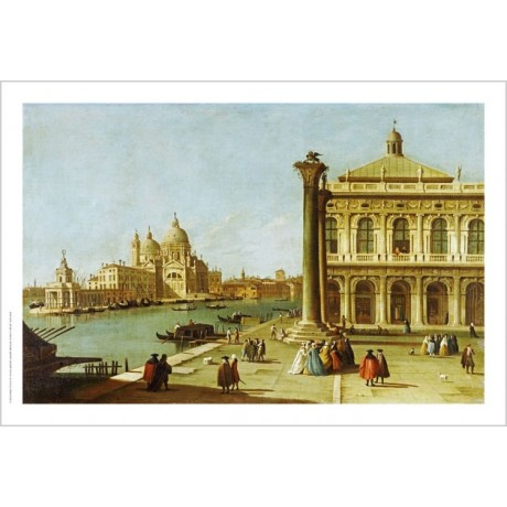 GIOVANNI ANTONIO CANALETTO Grand Canal Venice ON CANVAS various SIZES, BRAND NEW