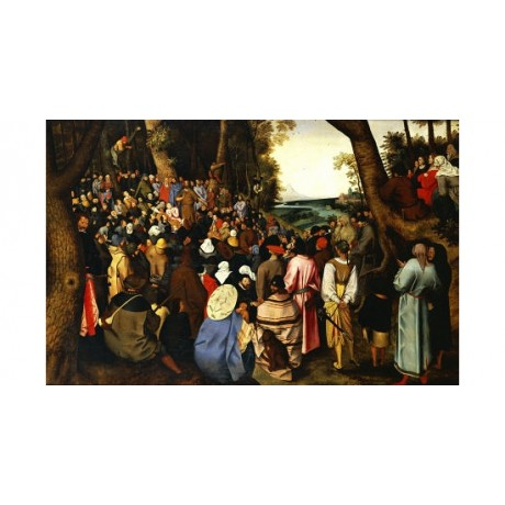 PIETER BRUEGHEL II Saint John The Baptist Preaching various SIZES available, NEW