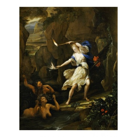 "EGLON HENDRICK VAN DER NEER ""Circe Transforming Scylla"" various SIZES, BRAND NEW"
