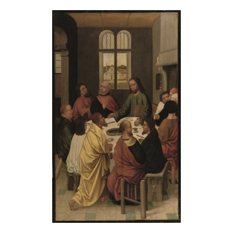"FOLLOWER OF DIERIC BOUTS ""The Last Supper"" CHRISTIAN new testament jesus CANVAS"
