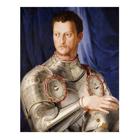 AGNOLO BRONZINO (STUDIO) Duke Cosimo Medici PRINT choose SIZE, from 55cm up, NEW