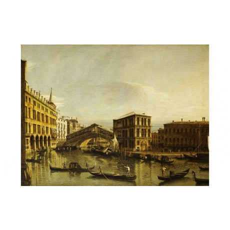 "BERNARDO BELLOTTO ""Grand Canal, Venice"" print choose your SIZE, 55cm to X LARGE"