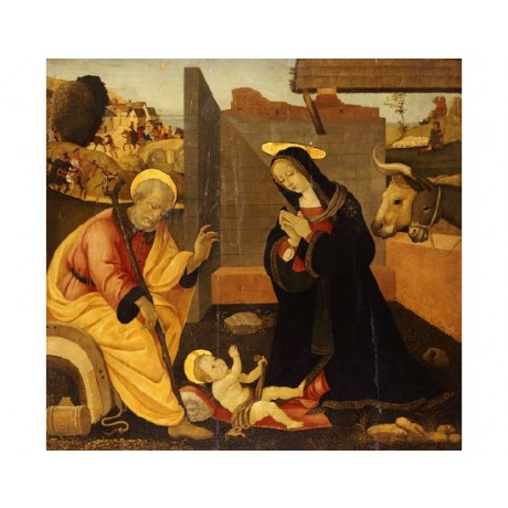 "FILIPPINO LIPPI (FOLLOWER OF) ""Nativity"" print NEW choose SIZE, from 55cm up"