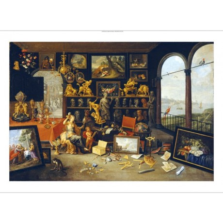 """SCHOOL OF ANTWERP """"A Collectors Cabinet"""" People Print various SIZES, BRAND NEW"""