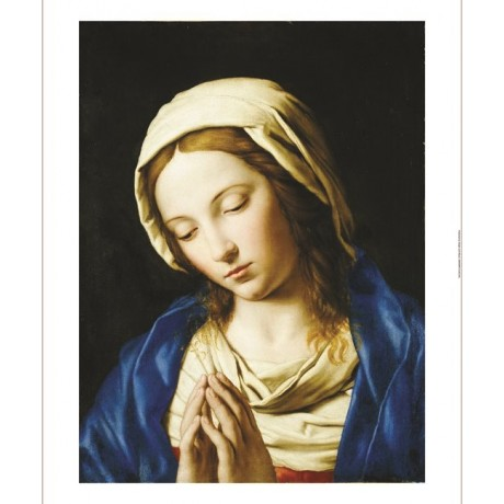 "GIOVANNI BATTISTA SALVI ""Madonna At Prayer"" print NEW various SIZES, BRAND NEW"