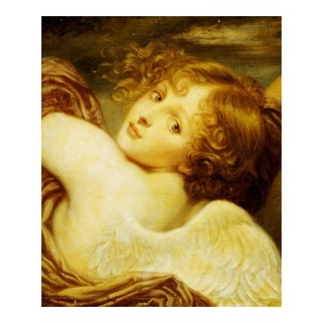 "DECORATIVE CANVAS PRINT ""CUPID"" Jean-Baptiste Greuze various SIZES available"