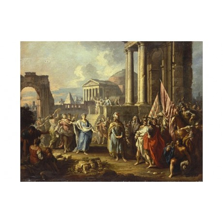 FRANCESCO FONTEBASSO Return Of Alexander Great To Rome various SIZES, BRAND NEW