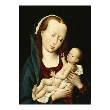 MASTER OF MAGALEN LEGEND Madonna And Child new CANVAS! various SIZES, BRAND NEW
