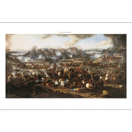 "JACQUES IGNACE PARROCEL ""Battle of Belgrade"" new CANVAS various SIZES available"
