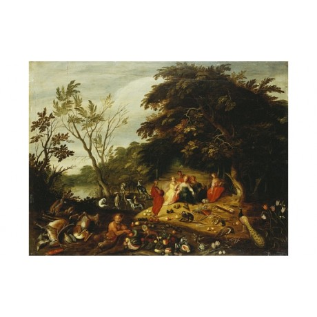 "JAN VAN KESSEL ""Summer"" new CANVAS see our eBay shop! various SIZES, BRAND NEW"