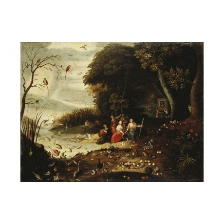 "JAN VAN KESSEL ""Autumn"" CANVAS print see our eBay shop! various SIZES, BRAND NEW"