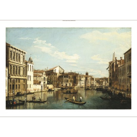 "BERNARDO BELLOTTO ""Grand Canal Venice"" new CANVAS print various SIZES, BRAND NEW"