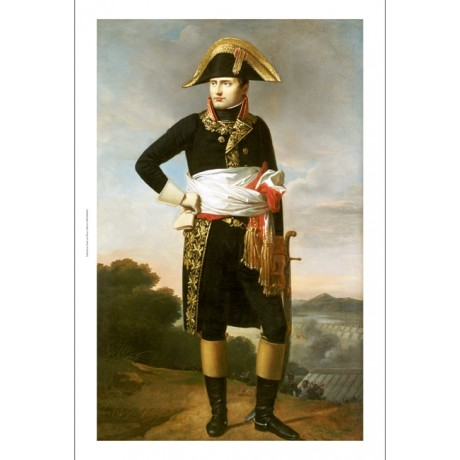 "FRENCH SCHOOL ""Portrait Of Napoleon"" Military Print various SIZES available, NEW"