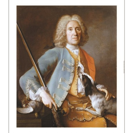 JEAN-BAPTISTE OUDRY (CIRCLE OF) Portrait Man PRINT choose SIZE, from 55cm up