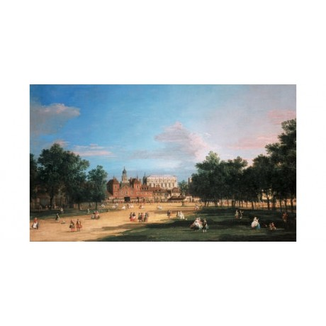 GIOVANNI ANTONIO CANAL London landscape PRINT ON CANVAS various SIZES, BRAND NEW
