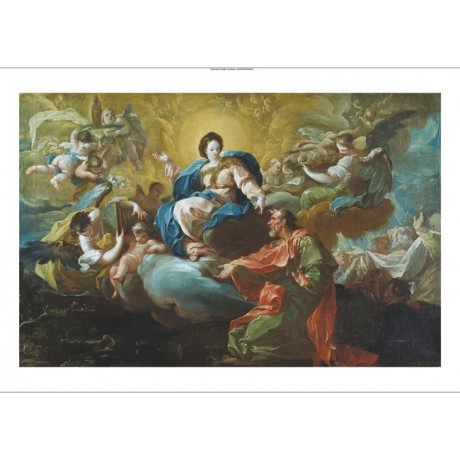 "FRANCISCO BAYEU SUBIAS ""Madonna Appearing To St James"" various SIZES, BRAND NEW"