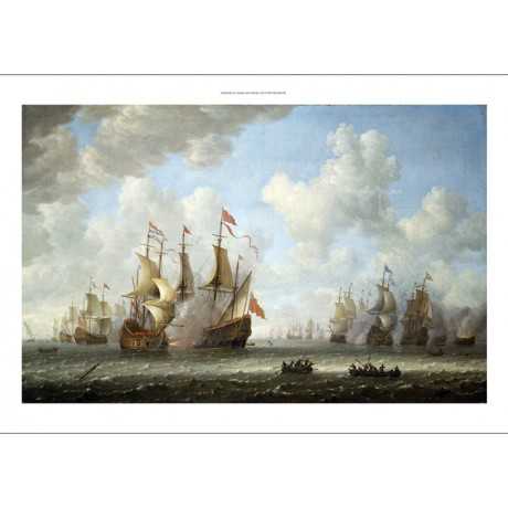 "JERONIMUS VAN DIEST ""A Battle At Sea"" BROWSE our shop! various SIZES, BRAND NEW"