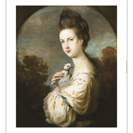 "SIR JOSHUA REYNOLDS ""Portrait Of Miss Juliet Langton"" various SIZES, BRAND NEW"