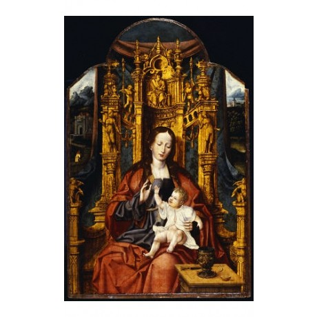 JOOS VAN CLEVE (CIRCLE OF ) Virgin And Child PRINT NEW various SIZES, BRAND NEW