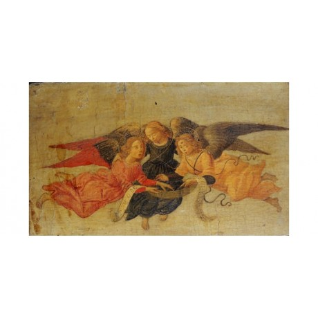 "BOLOMMEO DI GIOVANNI ""Three Angels"" print NEW choose your SIZE, 55cm to X LARGE"