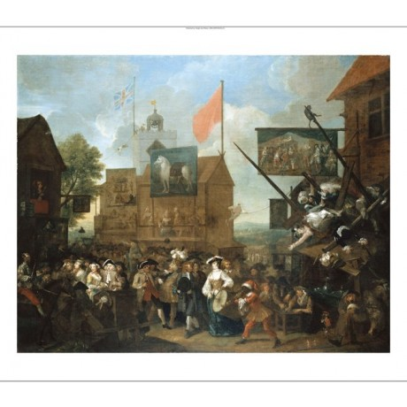 "WILLIAM HOGARTH ""Southwark Fair"" BROWSE our eBay shop! various SIZES, BRAND NEW"