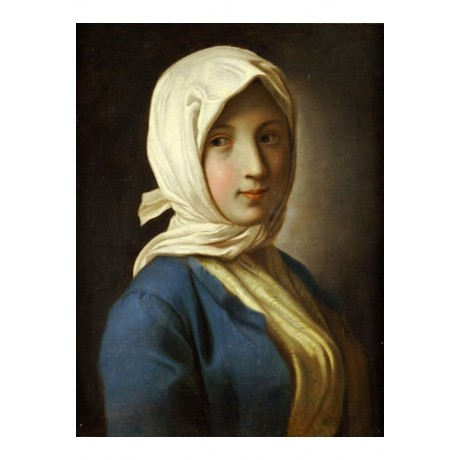 PIETRO ROTARI Portrait Girl PRINT ON CANVAS NEW choose SIZE, from 55cm up, NEW