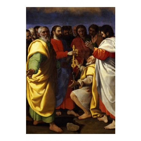 "GIUSEPPE VERMIGLIO ""Christ's Charge To Saint Peter"" various SIZES available, NEW"