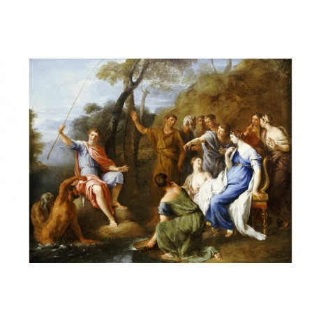 "FRANCESCO FERNANDI ""Mythological Fishing Py"" PRINT choose SIZE, from 55cm up"