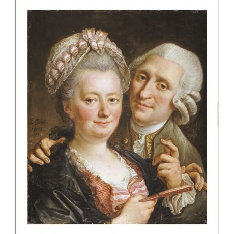"FRANCOIS GUERIN ""Portrait Of A Gentleman And Wife"" choose SIZE, from 55cm up"