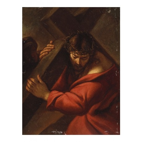 "SISTO BADALOCCHIO ""Christ On The Road To Calvary"" PRINT various SIZES, BRAND NEW"
