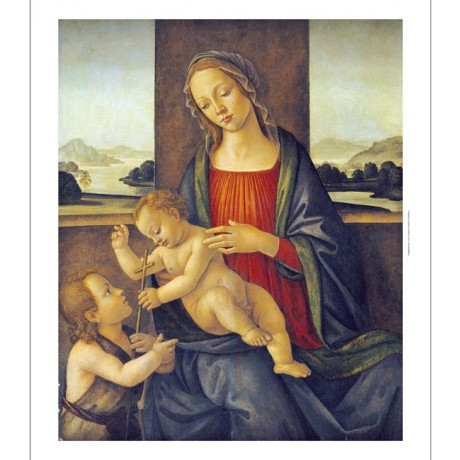 SANDRO BOTTICELLI (CIRCLE OF) Madonna And Child NEW various SIZES available, NEW
