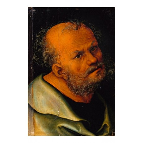 LUCAS CRANACH Saint Peter holy ROME pope CATHOLIC elder NEW CANVAS PRINT giclee