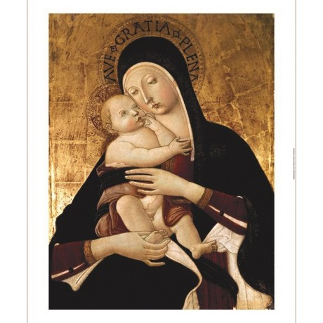 "BENVENUTO DI GIOVANNI ""Madonna And Child"" print NEW various SIZES available, NEW"
