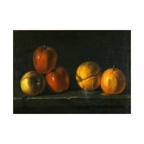 "JACQUES CHARLES OUDRY ""Still-Life With Oranges"" print various SIZES, BRAND NEW"