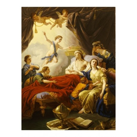 LOUIS-JEAN-FRANCOIS LAGRENEE Dauphin OLD MASTER choose SIZE, from 55cm up, NEW