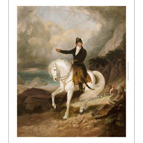"THOMAS HEAPHY ""Duke of Wellington with Troops"" military coast NEW CANVAS PRINT"